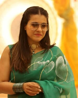 Kajol - Photos: Celebs At North Bombay Durga Pooja Samiti 2021