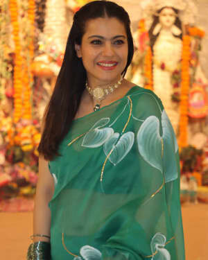 Kajol - Photos: Celebs At North Bombay Durga Pooja Samiti 2021 | Picture 1828601