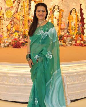 Kajol - Photos: Celebs At North Bombay Durga Pooja Samiti 2021 | Picture 1828598