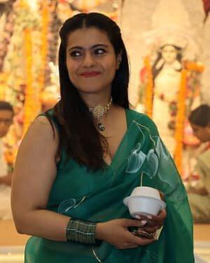 Kajol - Photos: Celebs At North Bombay Durga Pooja Samiti 2021 | Picture 1828590