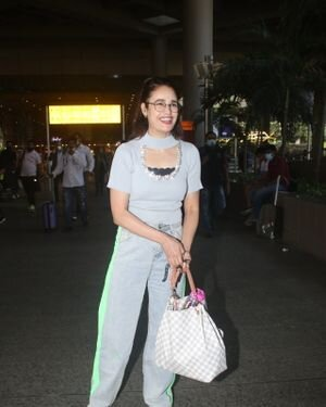 Yuvika Chaudhary - Photos: Celebs Spotted At Airport | Picture 1828668