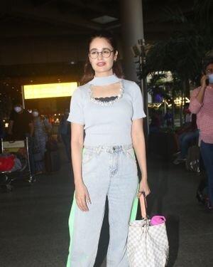 Yuvika Chaudhary - Photos: Celebs Spotted At Airport