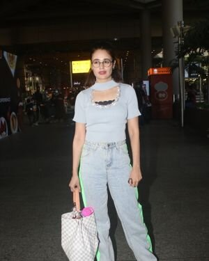Yuvika Chaudhary - Photos: Celebs Spotted At Airport | Picture 1828667