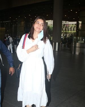 Kajal Aggarwal - Photos: Celebs Spotted At Airport