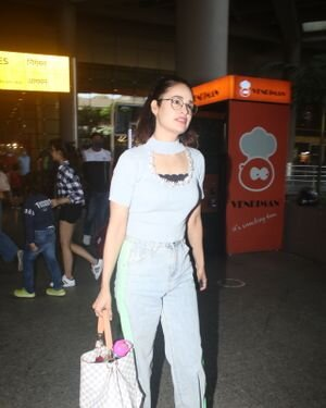 Yuvika Chaudhary - Photos: Celebs Spotted At Airport | Picture 1828664