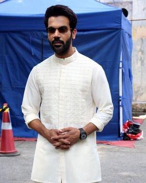 Rajkummar Rao - Photos:  Promotion Of Film Hum Do Hamare Do At Filmistan Studio