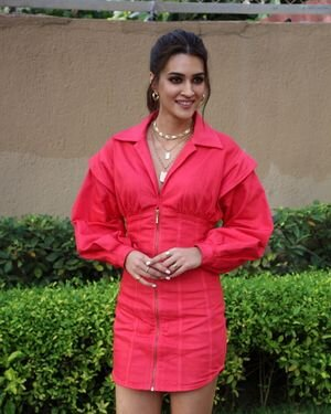 Kriti Sanon - Photos: Promotion Of Film Hum Do Hamare Do At JW Marriott