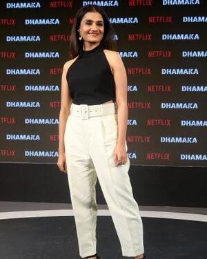 Amruta Subhash - Photos: Trailer Launch Of Film Dhamaka