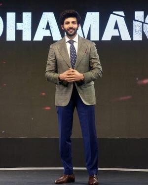Kartik Aaryan - Photos: Trailer Launch Of Film Dhamaka
