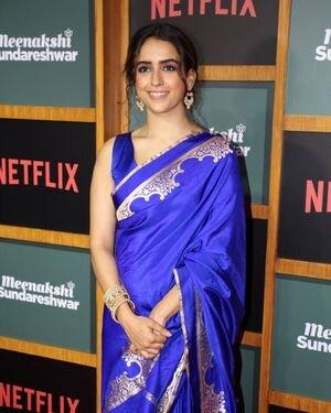 Sanya Malhotra - Photos: Trailer Launch Of Film Meenakshi Sundareshwar