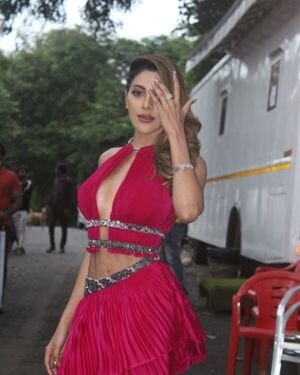 Nikki Tamboli - Photos: Celebs Spotted On The Sets Of Bigg Boss Ott   Picture 1826823