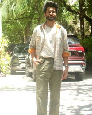 Sunny Kaushal - Photos: Promotion Of Film Shiddat At Maddock Films Office