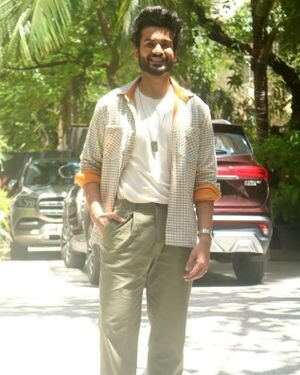 Sunny Kaushal - Photos: Promotion Of Film Shiddat At Maddock Films Office | Picture 1827285