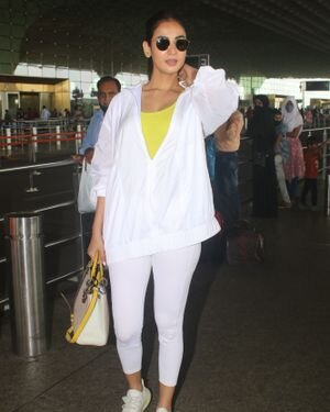 Sonal Chauhan - Photos: Celebs Spotted At Airport   Picture 1827559