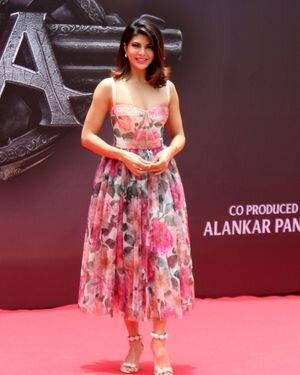 Jacqueline Fernandez - Photos: Vikrant Rona Poster Launch At Andheri | Picture 1820239