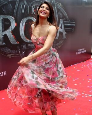 Jacqueline Fernandez - Photos: Vikrant Rona Poster Launch At Andheri | Picture 1820237