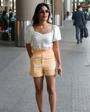 Samyuktha Menon - Photos: Celebs Spotted At Airport | Picture 1754243