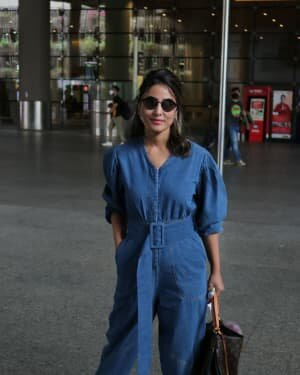 Hina Khan - Photos: Celebs Spotted At Airport | Picture 1754234