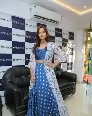Pujitha Ponnada At The Inauguration Of BeYou Salon At Bhimavaram | Picture 1752519
