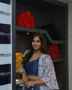 Pujitha Ponnada At The Inauguration Of BeYou Salon At Bhimavaram | Picture 1752534