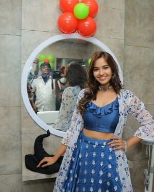 Pujitha Ponnada At The Inauguration Of BeYou Salon At Bhimavaram | Picture 1752524