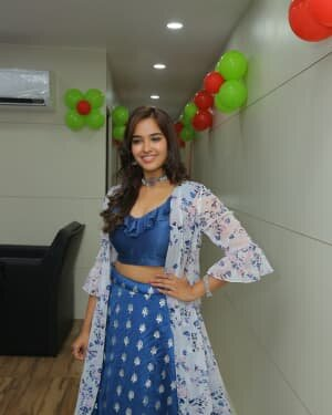 Pujitha Ponnada At The Inauguration Of BeYou Salon At Bhimavaram | Picture 1752532
