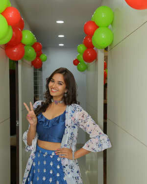 Pujitha Ponnada At The Inauguration Of BeYou Salon At Bhimavaram | Picture 1752527