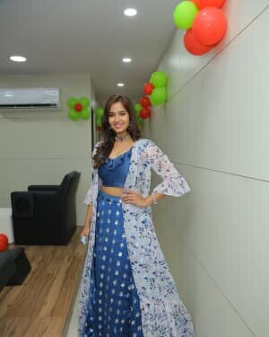 Pujitha Ponnada At The Inauguration Of BeYou Salon At Bhimavaram | Picture 1752530