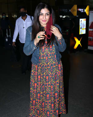 Raveena Tandon - Photos: Celebs Spotted At Airport | Picture 1765631
