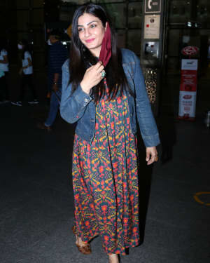 Raveena Tandon - Photos: Celebs Spotted At Airport | Picture 1765632